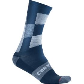 Castelli Diverso 2 18 Cycling Socks blue